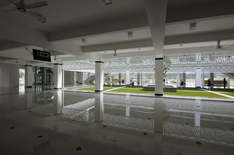 Mosquée de Cyberjaya dans Cyberjaya, Malaisie photographie stock libre de droits