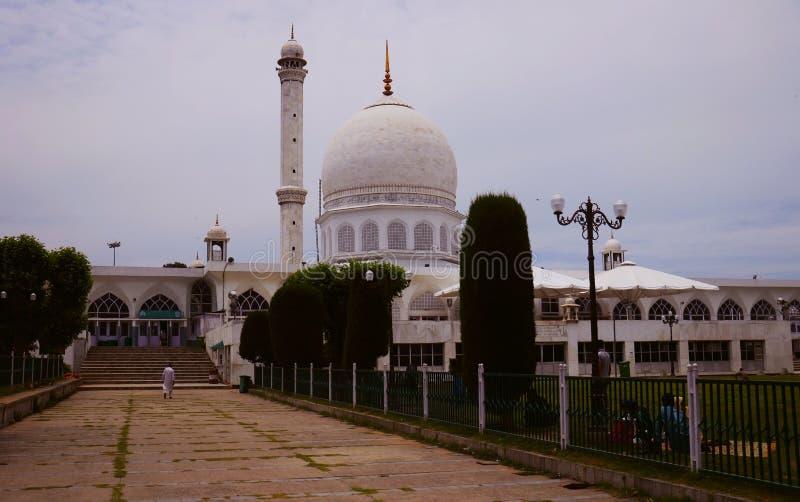 Mosquée de Dargah à Srinagar Cachemire, Inde images libres de droits