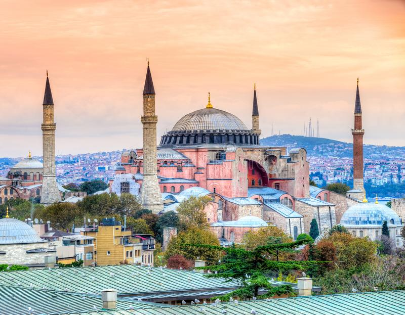 Mosquée de Hagia Sophia, Istanbul, Turquie photos libres de droits