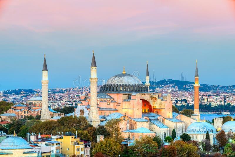 Mosquée de Hagia Sophia, Istanbul, Turquie photos stock