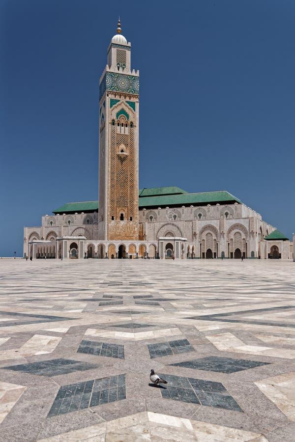 Mosquée de Hasan II à Casablanca, Maroc 8 photos libres de droits