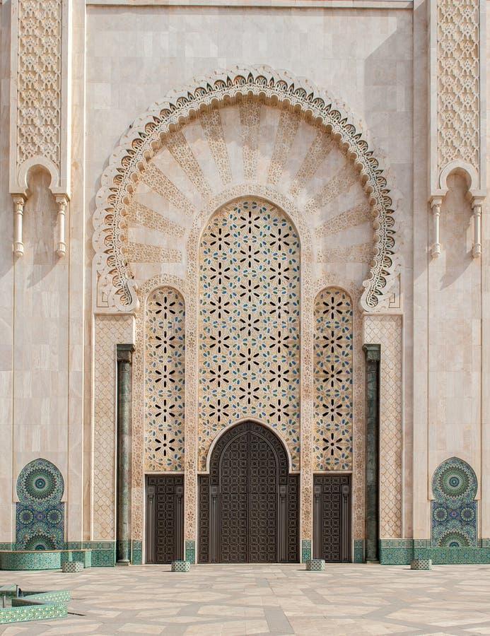 Mosquée de Hassan II, Casablanca morocco image stock