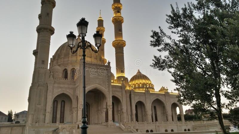 Mosquée de Haydar Aliyev en Baku Azerbaijan photographie stock