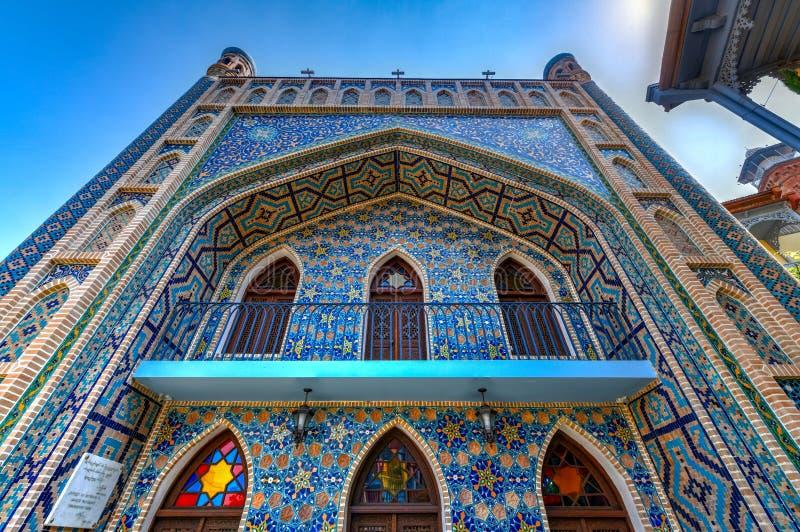 Mosquée de Jumah - Tbilisi, la Géorgie photo libre de droits