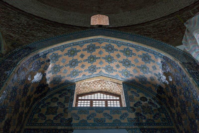 Mosquée de Kabud photographie stock libre de droits