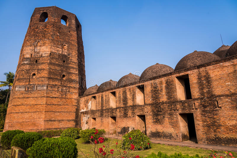 Mosquée de Katra dans Murshidabad photos stock