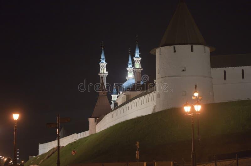 Mosquée de Kul-Sharif à Kazan Kremlin images libres de droits