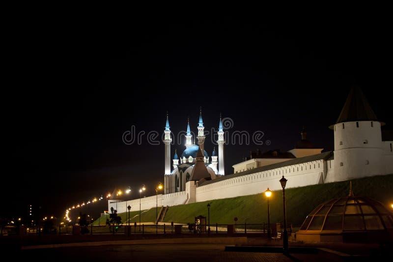 Mosquée de Kul-Sharif à Kazan Kremlin image stock