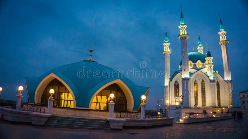 Mosquée de Kul Sharif à Kazan, Russie photo stock