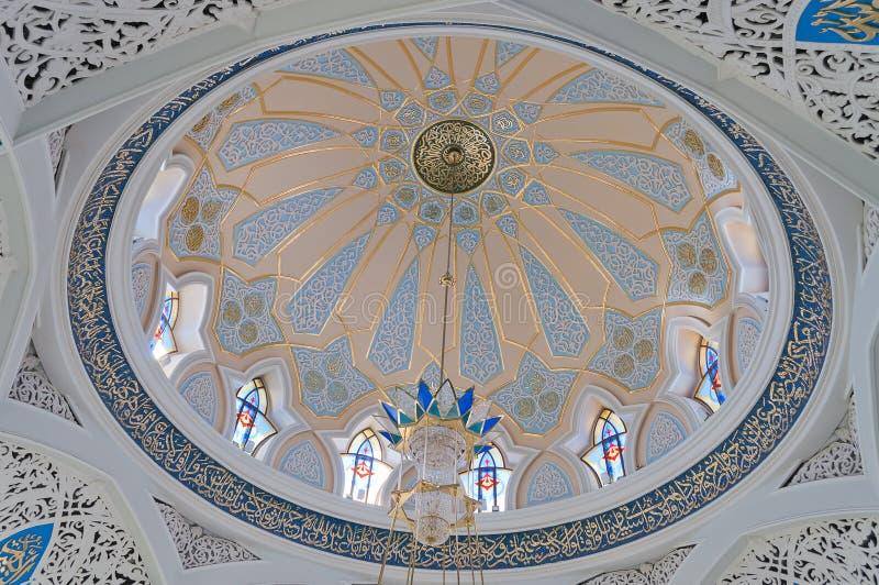 Mosquée de Kul Sharif dans Kremlin. Kazan. La Russie. image stock