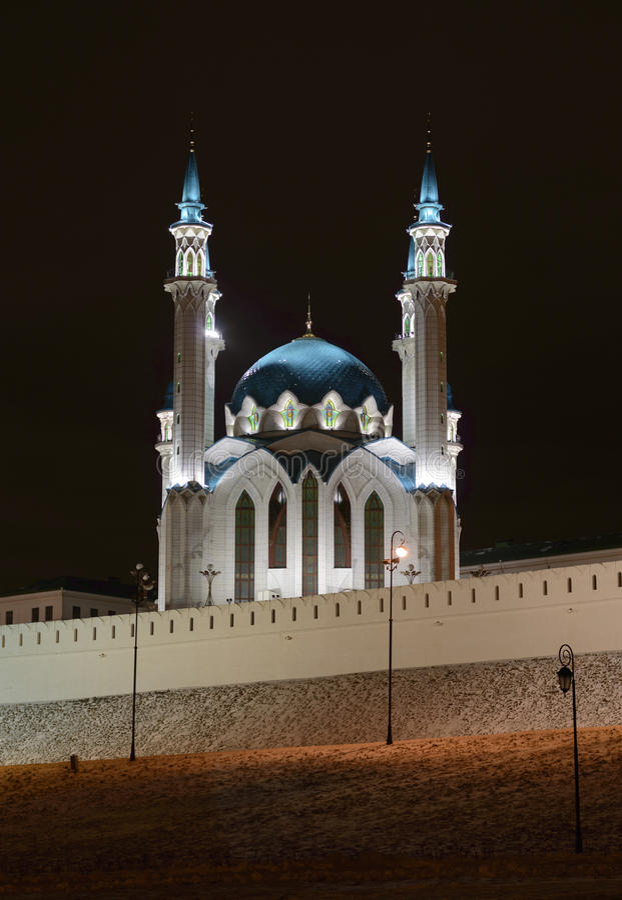 Mosquée de Kul-Sharif, Kazan, Russie photo stock