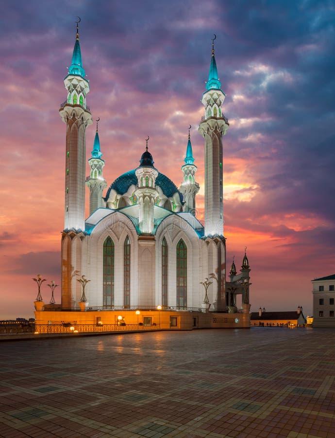 Mosquée de Kul Sharif Ville de Kazan, Russie image stock