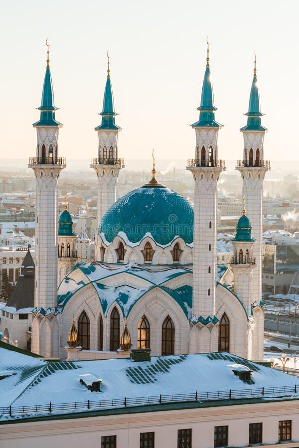 Mosquée de Kul Sharif Ville de Kazan, photographie stock libre de droits