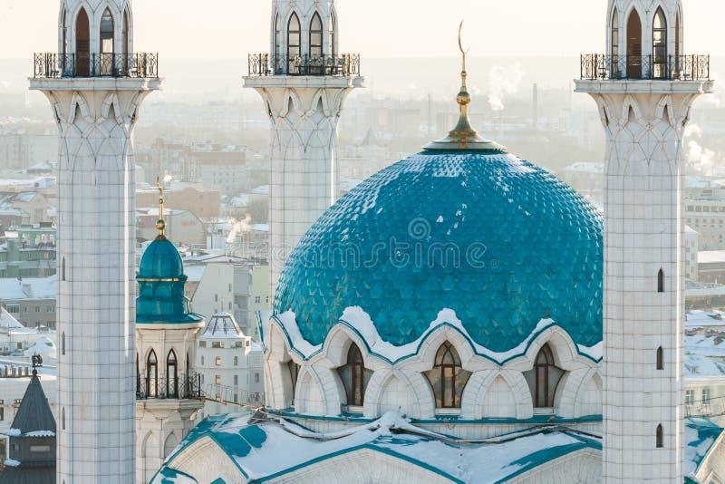 Mosquée de Kul Sharif Ville de Kazan, images libres de droits