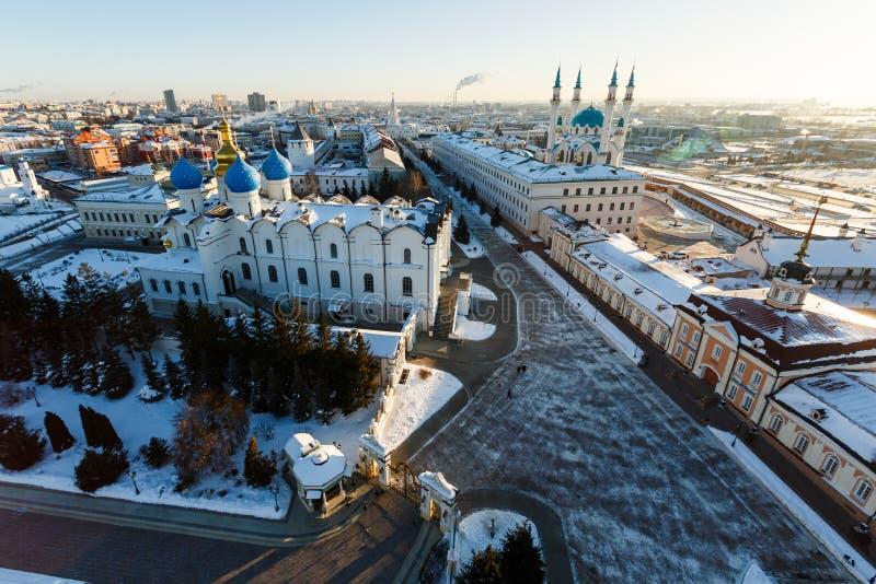 Mosquée de Kul Sharif Ville de Kazan, photos stock