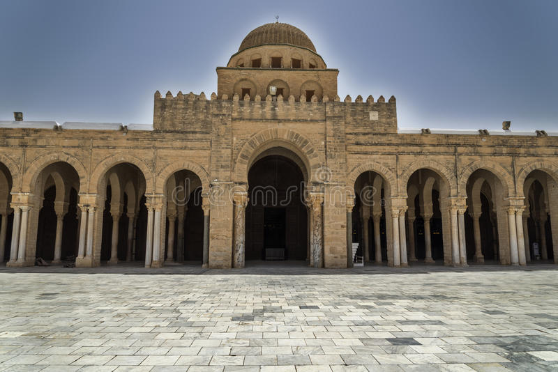 Mosquée de la Tunisie Kairouan photo stock