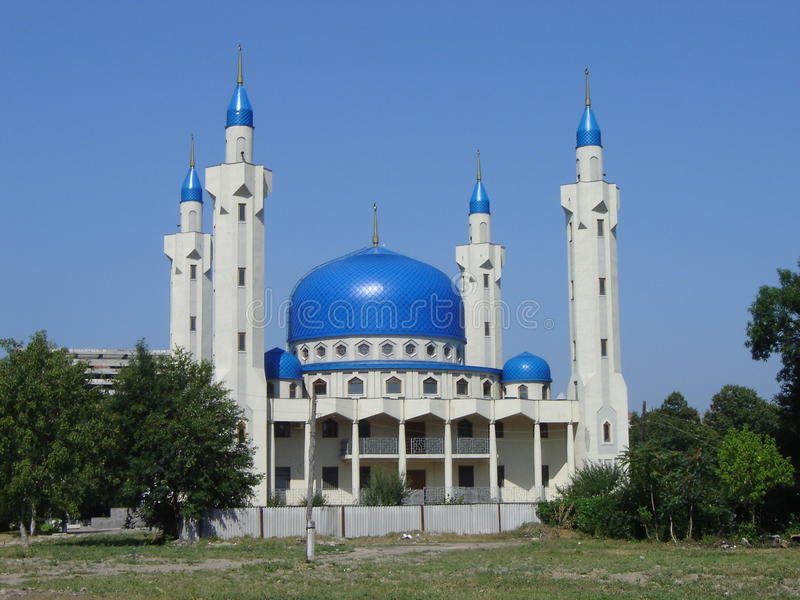 mosquée de Maikop image stock