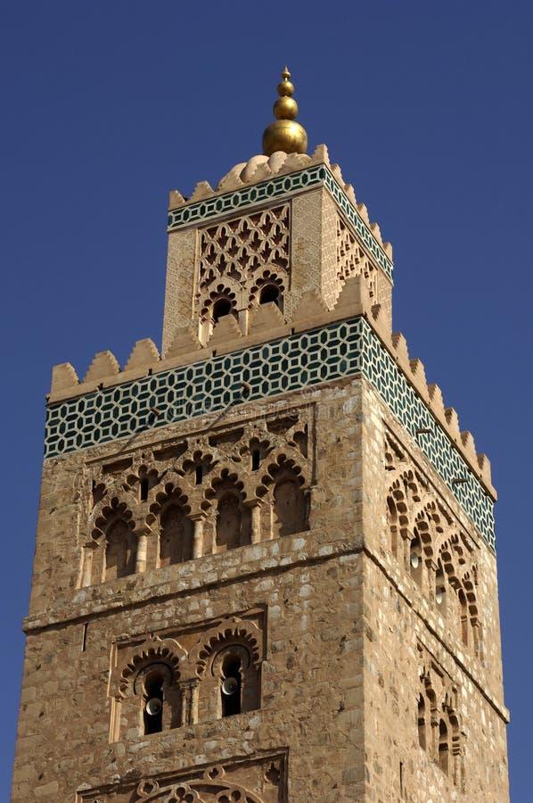 mosquée de Marrakech de koutoubia photo libre de droits