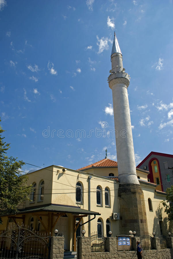 Mosquée de Medrese, Gjilan, Kosovo images libres de droits