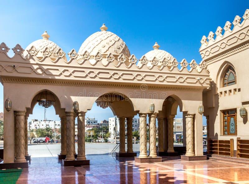 Mosquée de Mina d'EL photographie stock libre de droits