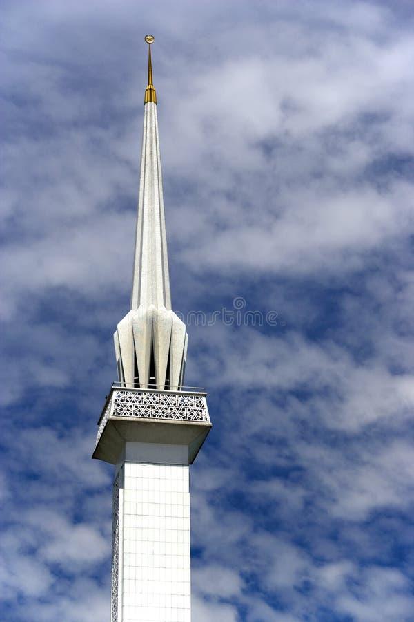 mosquée de minaret photo libre de droits