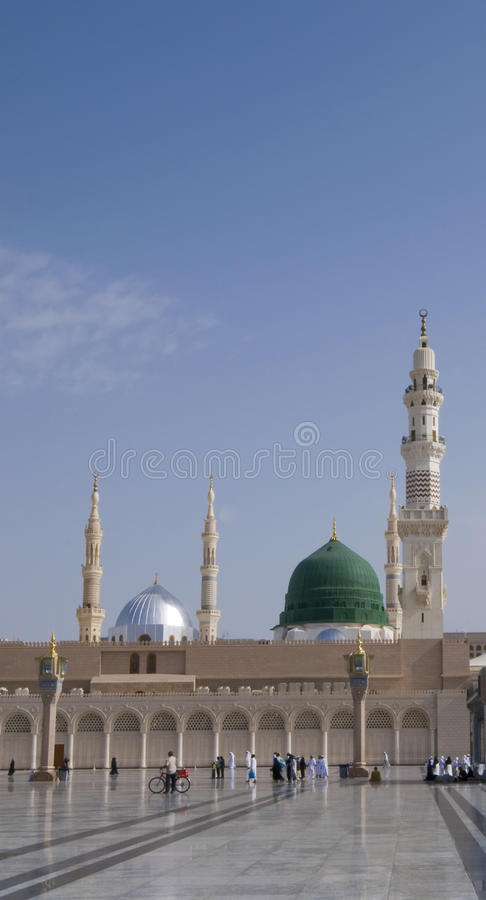 Mosquée de Nabawi photo stock