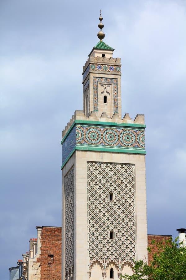 Mosquée de Paris photos libres de droits