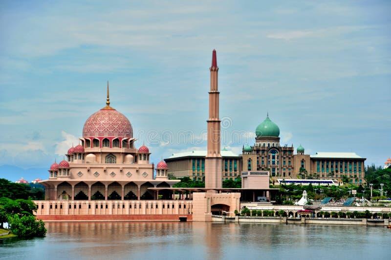 Mosquée de Putra images libres de droits