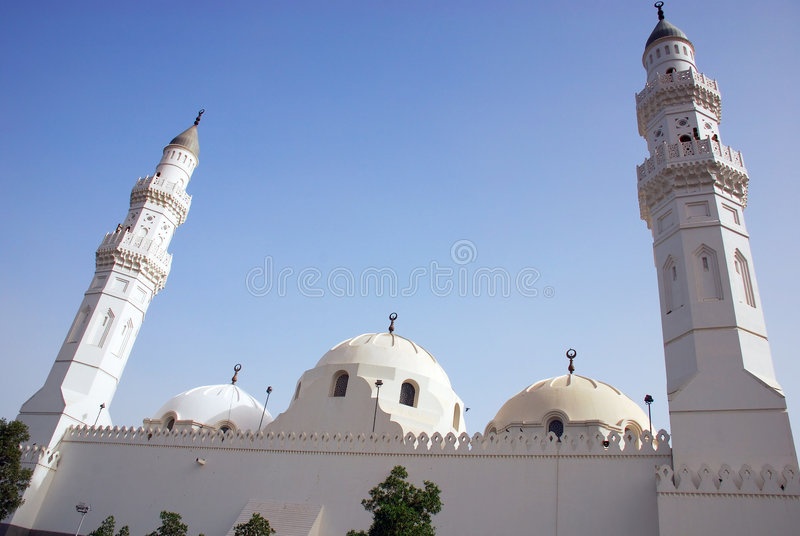 Mosquée de Qoba images libres de droits
