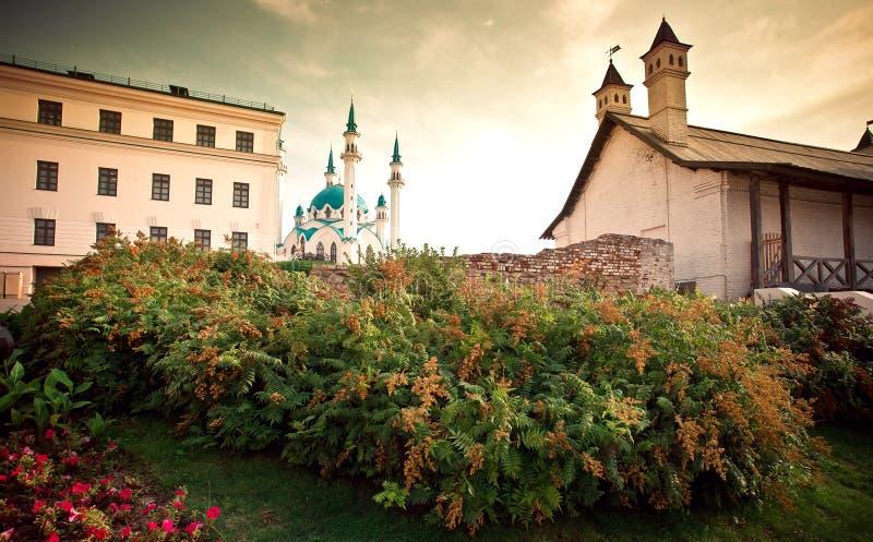 Mosquée de Qolsharif à Kazan Kremlin, Russie photographie stock