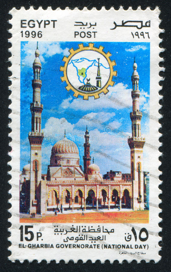Mosquée de Sayd Ahmed Badawy image libre de droits