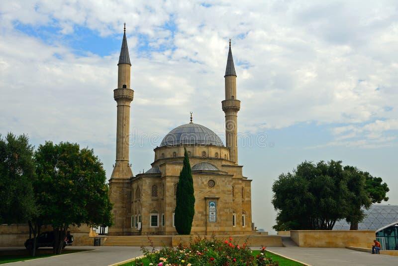 Mosquée de Sehidliq, Bakou, Azerbaïdjan photo stock
