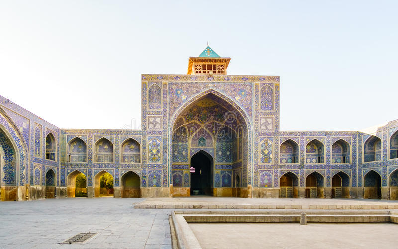 Mosquée de Shah à Isphahan, Iran photo stock