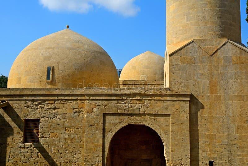 Mosquée de Shirvan Shah, Bakou, Azerbaïdjan photographie stock