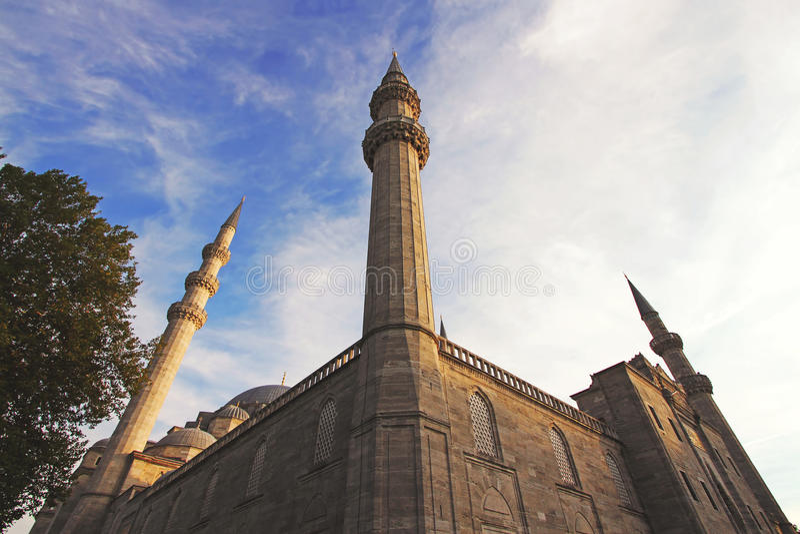 Mosquée de Suleiman à Istanbul, Turquie image stock