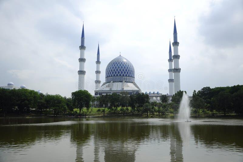 Mosquée a de Sultan Salahuddin Abdul Aziz Shah k Shah Alam Mosque photo libre de droits