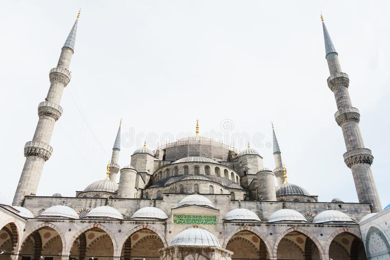 Mosquée de Sultanahmet de site historique à Istanbul photographie stock