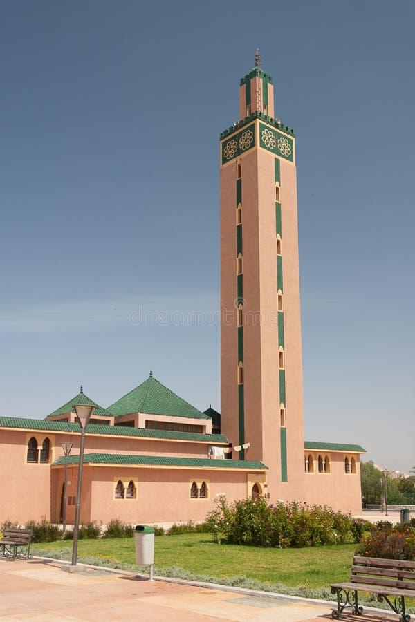 Mosquée de ville de Tiznit, Maroc image stock