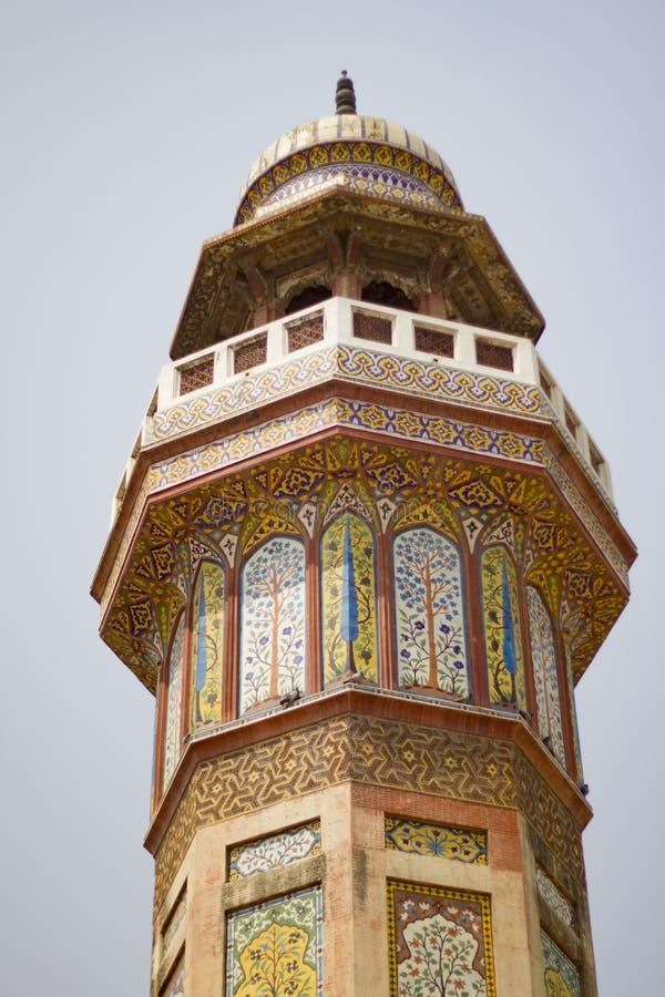 Mosquée de Wazir Khan photo stock