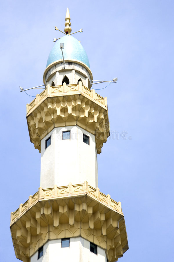 Mosquée de Wilayah Persekutuan photos libres de droits