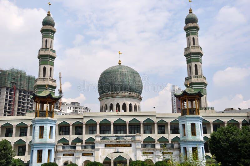 Mosquée de Xining Dongguan photographie stock