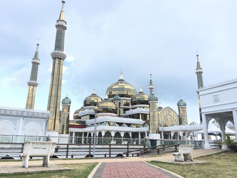 Mosquée en cristal photos stock