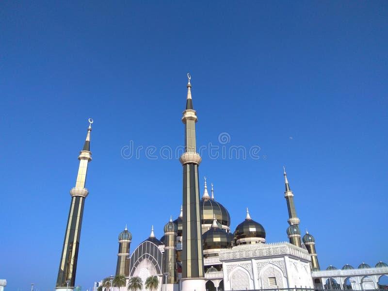 Mosquée en cristal photographie stock libre de droits