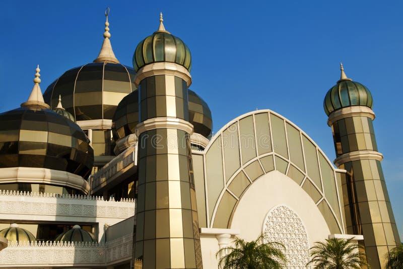 Mosquée en cristal image libre de droits