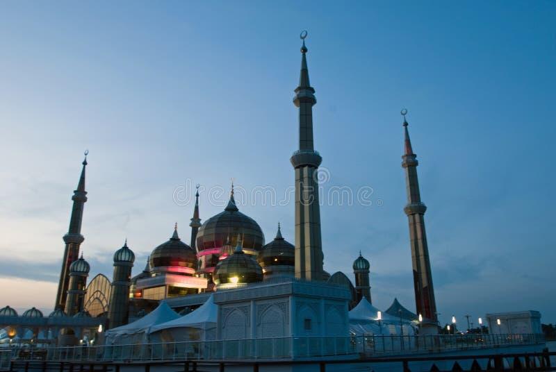 Mosquée en cristal photos libres de droits