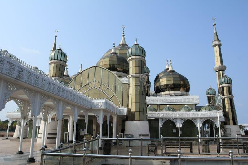 Mosquée en cristal photo stock