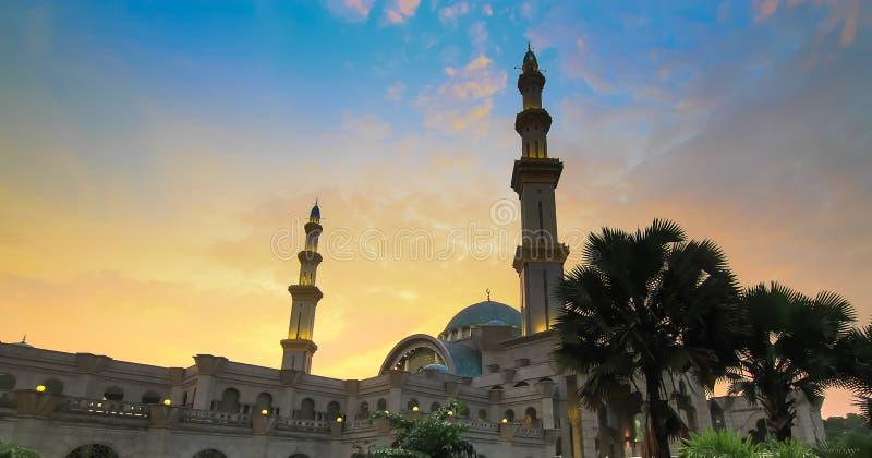 Mosquée fédérale en Kuala Lumpur Malaysia photos libres de droits