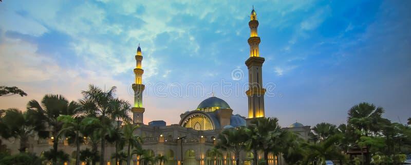 Mosquée fédérale en Kuala Lumpur Malaysia photographie stock