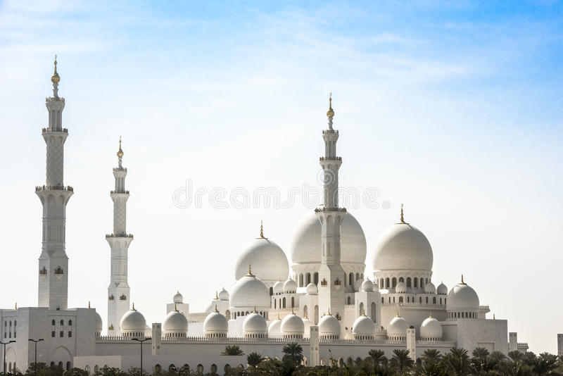 Mosquée grande Abu Dhabi photographie stock