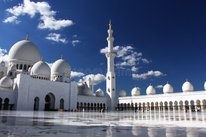 Mosquée grande en Abu Dhabi photo stock